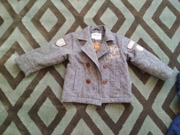Пальто на мальчика,  Wojcik,  размер 74