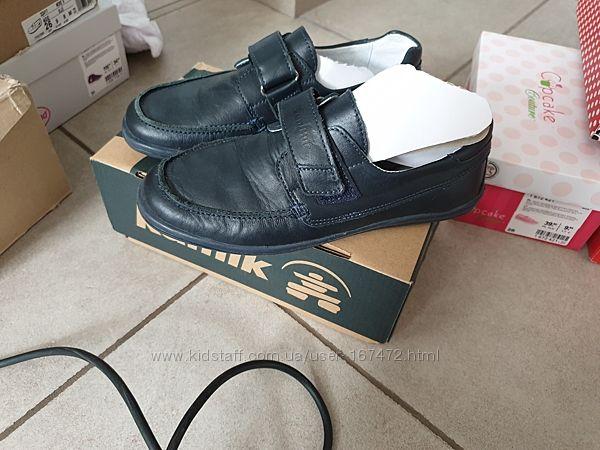 Туфли на мальчика RenBut, Ecco Geox, кожа 35 размер