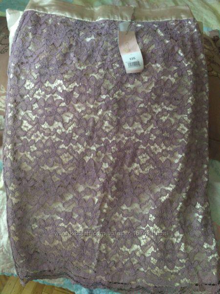 Шикарная юбка новая, р. 10 европейский