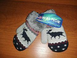 Нові теплі рукавички на 1-3 р. Норвегія.