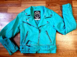 Куртка экокожа косуха на рост 128-134