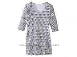 Модная туника, удлиненная женская футболка р. S  Esmara, Германия