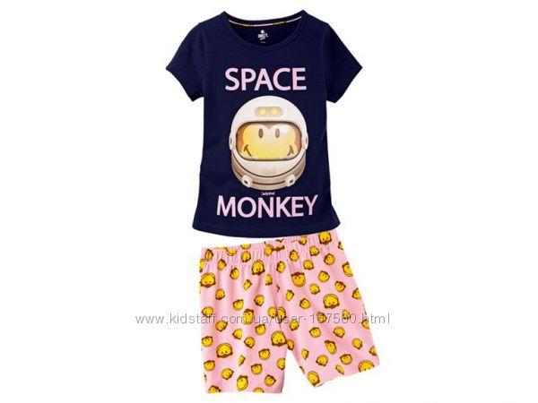 Пижама для девочки, домашний комплект Lupilu, Германия