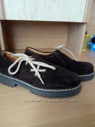 Richter замшевые туфли 32 р