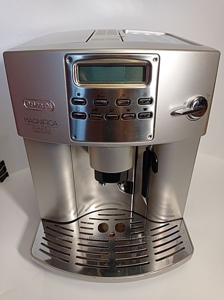 Кофемашина автомат Delonghi Magnifica RAPID cappuccino ESAM 3400. S