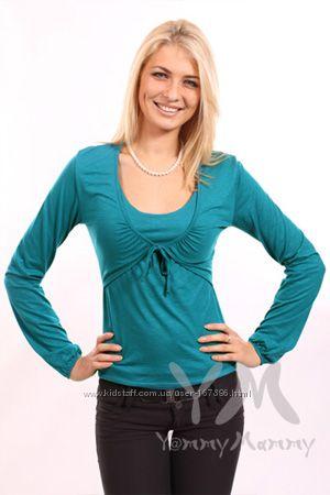 Блуза для кормления ТМ Yаmmy mammy