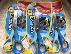Maped Ножницы Reflex 3D Vivo для левши, 12 см