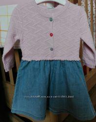Платья, юбки для девочки 6мес - 2лет, от фирмы BENETTON