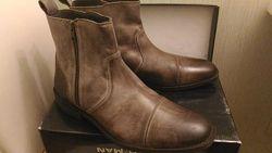 Стильные мужские ботинки Biankoman Италия
