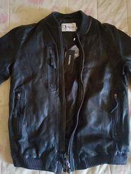 Стильная мужская кожаная куртка Nappa jeans, Дания
