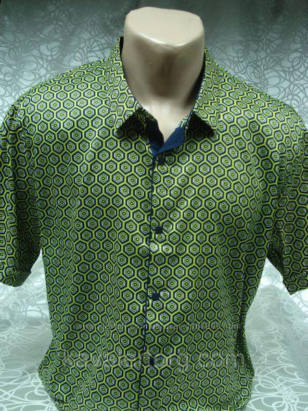 Рубашка мужская с коротким рукавом Enisse разм. 2XL,