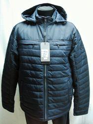 Куртка мужская PANDA демисезонная тёмно-синяя 56-58-62-64-66размеры