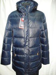 Куртка мужская зимняя молодёжная  полупритал.  удлинённая 46, 48, 52, 54размер