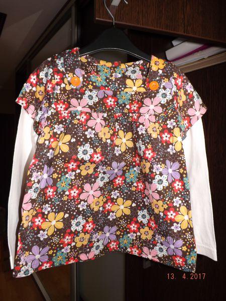 Продам блузку на девочку фирмы MOTHERCARE рост 116