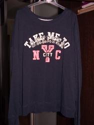 Продам футболку с длинным рукавом фирмы Colins размер XS.