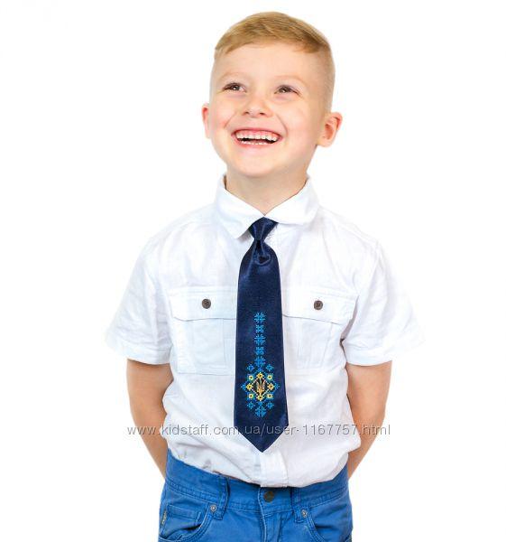 Дитячий галстук з вишивкою Малай