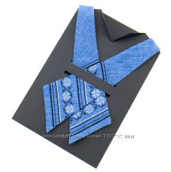 Вишита крос краватка