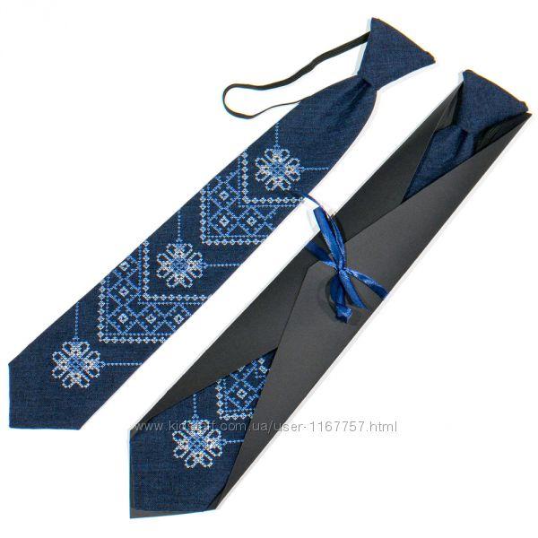 Підліткова вишита краватка