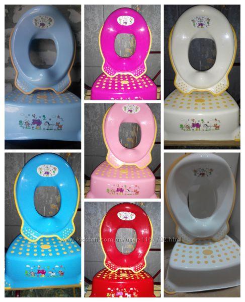 Комплект Поставка накладка сиденье детская в ванну под унитаз умывальник