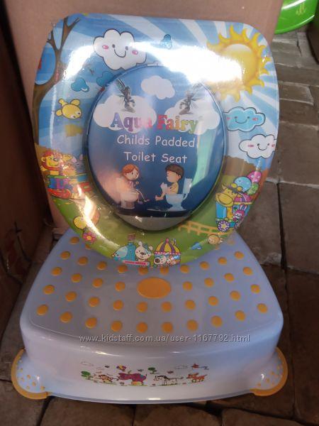 Подставка накладка сиденье мягкая детская  в ванну таулет