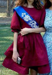 нарядное платье девочке на 13-15 лет рост 158-168см