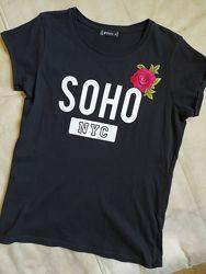 футболки девочкам на рост 140-170см