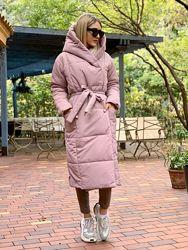Женское теплое куртка - пальто