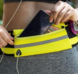 Спортивная сумка на пояс для бега поясная сумка для телефона бананка чехол