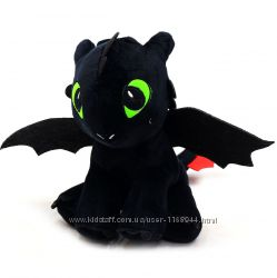 Мягкая игрушка Как приручить дракона. Игрушка Дракоша Беззубик 00688-1