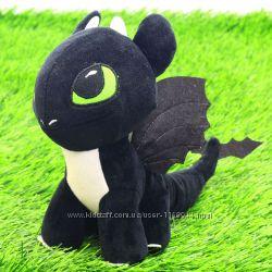 Мягкая игрушка Как приручить дракона. Дракоша Ночное сияние Элли  - 00688-4
