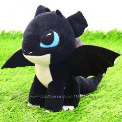 Мягкая игрушка Как приручить дракона. Дракоша Ночное сияние Шерис 00688-5