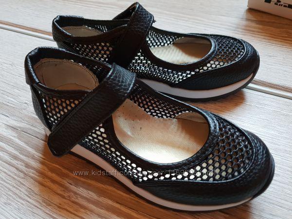 Туфельки Турция 27-28 туфли черевички черные