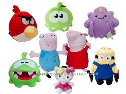 Розпродаж м&acuteяких іграшок героїв мультфільмів