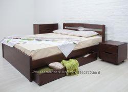 Кровать в спальню, Кровать Лика ЛюксЛика Люкс С Ящиками