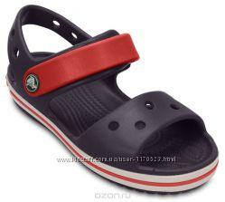 детские сандалии Crocs Crocband Sandal Kids Оригинал  c7. c9. c11