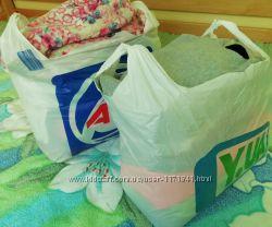 4 больших пакета вещей и обуви на девочку 5-11лет
