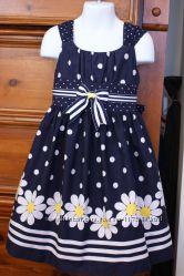 продам платье с ромашками американского бренда Бони Джин на 4 года