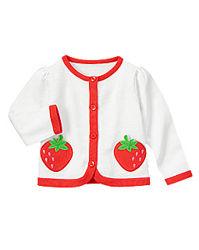 Новые кофта свитер кардиган Gymboree GAP Childrens place 4 года клубничка