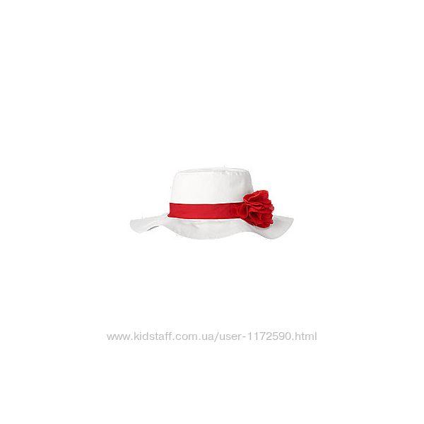 Новые шляпки панамки кепки Gymboree для девочек от года до 4 лет