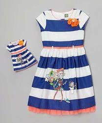 Новое платье для девочки и куклы Dollie & Me на 10 лет