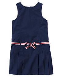 Новое школьное платье Gymboree сарафан 6 7 8 9 10 лет синее черное