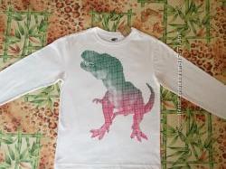 Футболка с динозавром CRAZY8 XL14