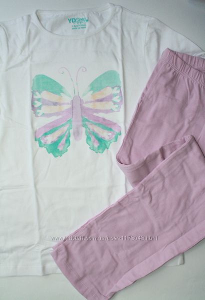 Хлопковая пижама девочке Primark