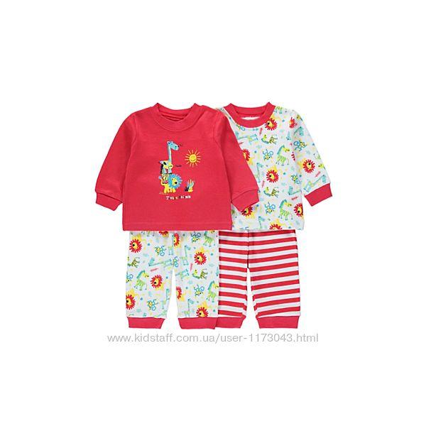 Пижамки мальчикам поштучно и комплектом George Англия