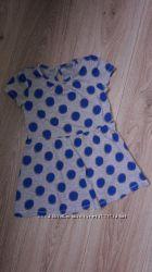 Платье в горох Matalan 3-4 года.