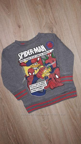 Свитшот Spider-Man 2-3 года.