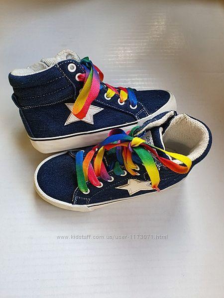 Ботинки хайтопы Next р. 29 стелька 18, 5 см.