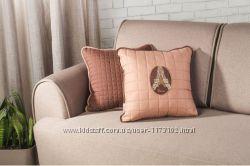 Подушка декоративная с шевроном Париж