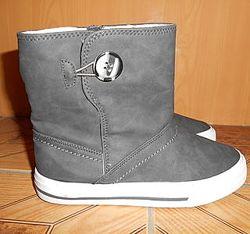Ботинки для мальчика фирмы Alive Германия  утеплены,  качество супер