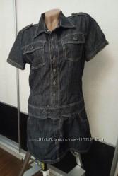Джинсовое мини платье Sublevel